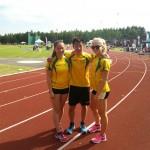 Evelina, Jonathan och Ebba